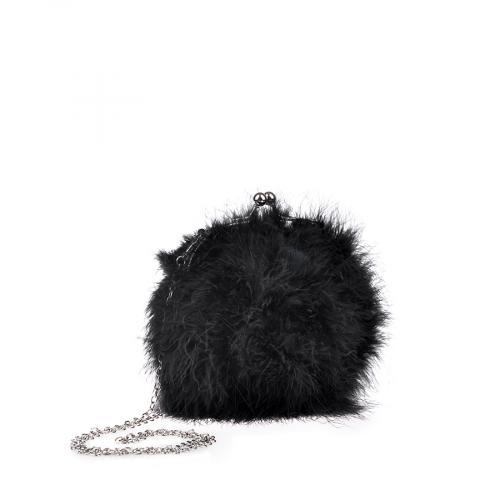 дамска елегантна чанта черна 0134403