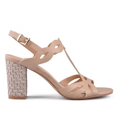Дамски сандали на висок ток 0133736