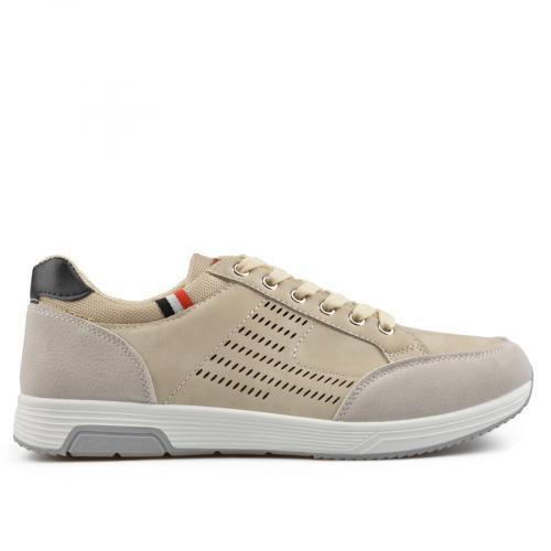 Мъжки ежедневни обувки бежови 0136943