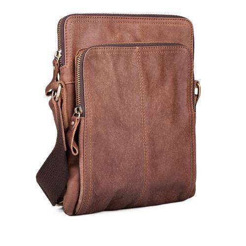 мъжка ежедневна чанта кафява 0132443