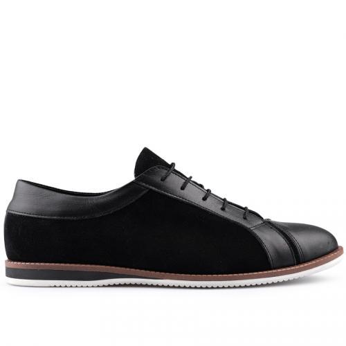 мъжки ежедневни обувки черни 0124848