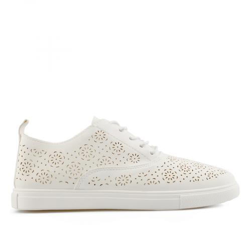 дамски ежедневни обувки бели 0137798