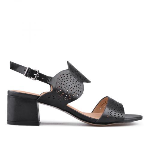 Дамски сандали на среден ток 0133733