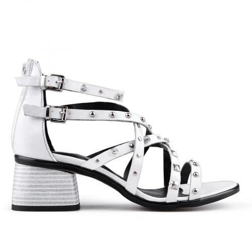 Дамски сандали на среден ток 0134703