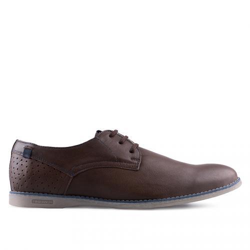 мъжки ежедневни обувки кафяви 0127512