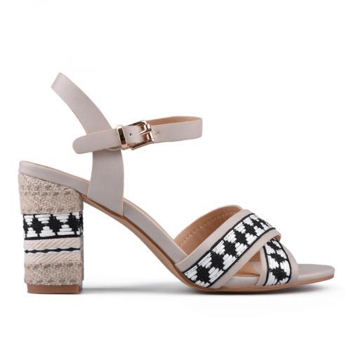 Дамски сандали на висок ток 0133738