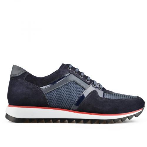 мъжки ежедневни обувки сини 0138307