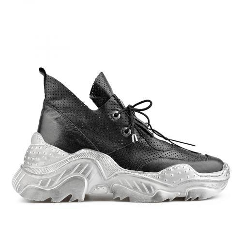 дамски ежедневни обувки черни 0138441