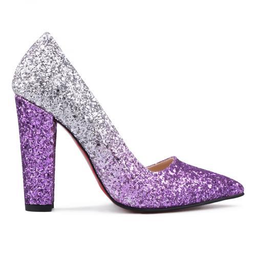 дамски елегантни обувки розови 0131236