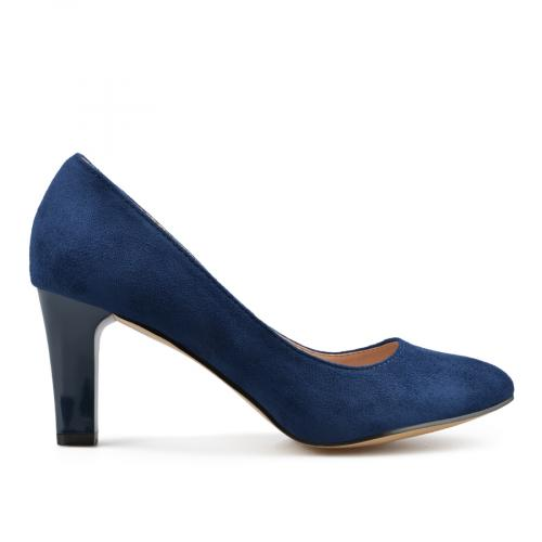 дамски елегантни обувки сини 0138082
