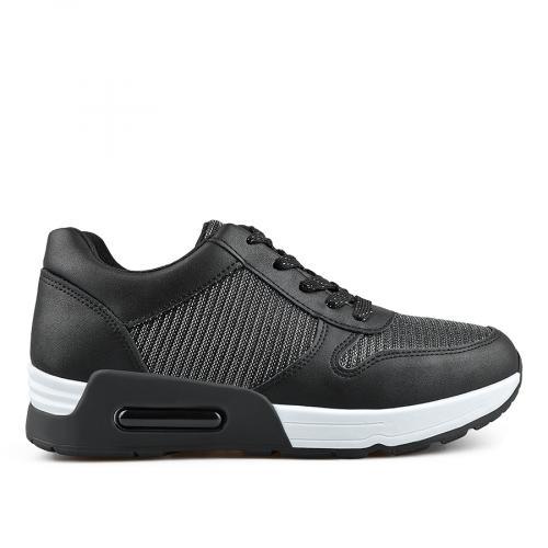 дамски ежедневни обувки черни 0136665