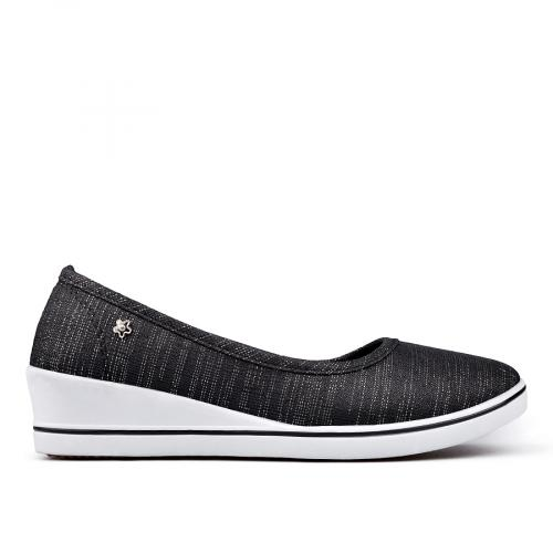 дамски ежедневни обувки черни 0131277