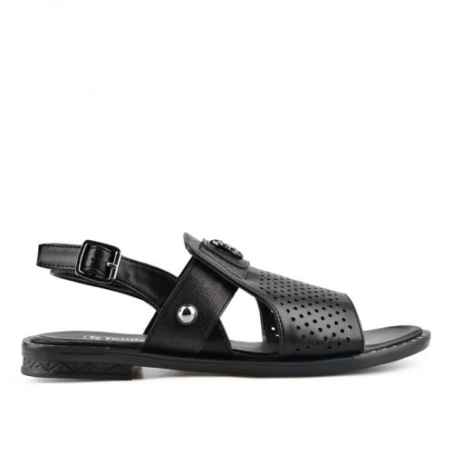 дамски ежедневни сандали черни 0137007