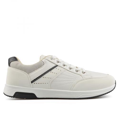 мъжки ежедневни обувки бели 0136944