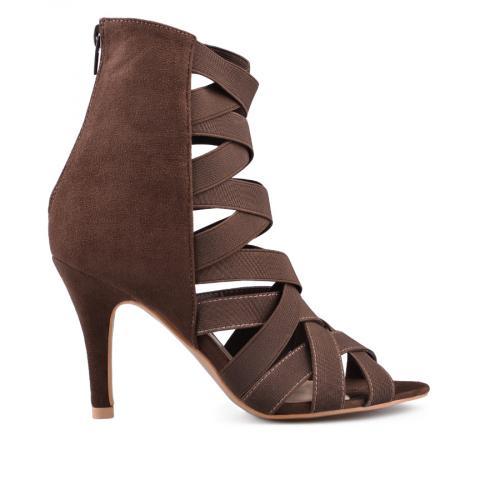 Дамски сандали на висок ток 0135092