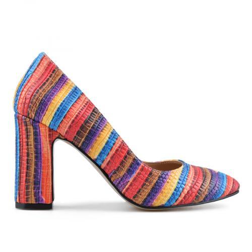 дамски елегантни обувки цветни 0138309