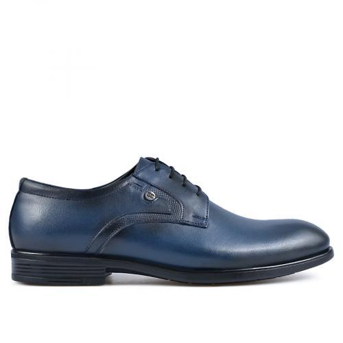 мъжки елегантни обувки сини 0135896