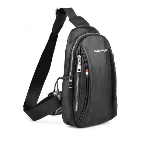 мъжка ежедневна чанта черна 0136365