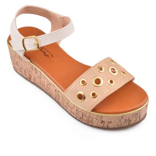 Дамски сандали с платформи 0134567