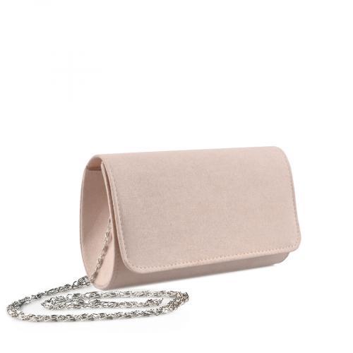 дамска  елегантна чанта бежова 0136771
