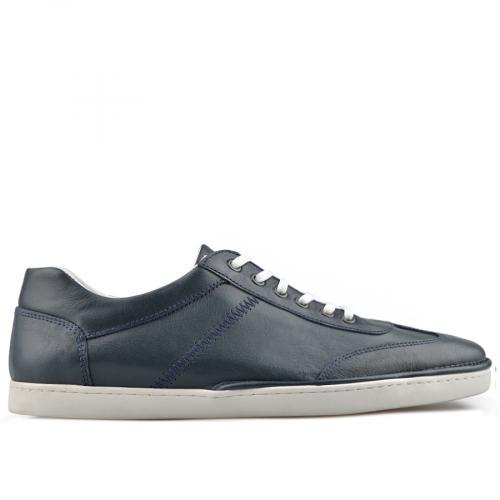 мъжки ежедневни обувки сини 0138297