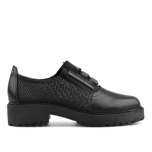 дамски ежедневни обувки черни 0136143