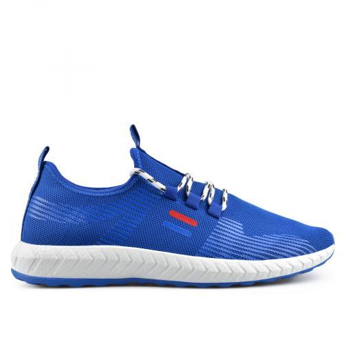 мъжки ежедневни обувки сини 0136920
