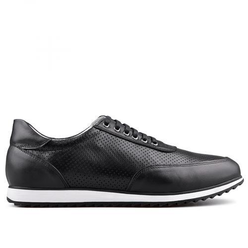 мъжки ежедневни обувки черни 0134757