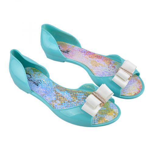 дамски сандали сини 0132858