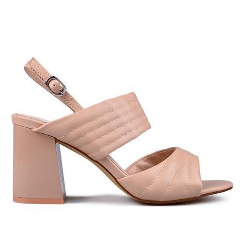 Дамски сандали на висок ток 0133654