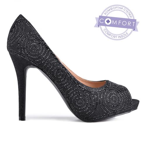 дамски елегантни обувки черни 0129209