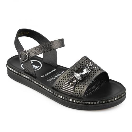дамски ежедневни сандали черни 0137052