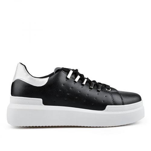 дамски ежедневни обувки черни 0136674
