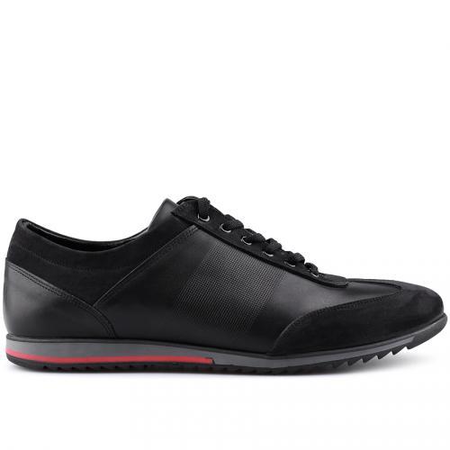 мъжки ежедневни обувки черни 0125977