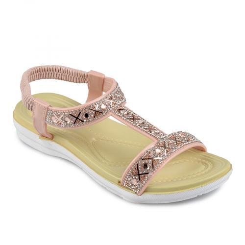 дамски ежедневни сандали розови 0138349