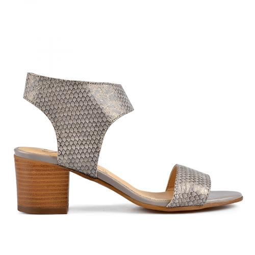 дамски елегантни сандали сиви 0138475