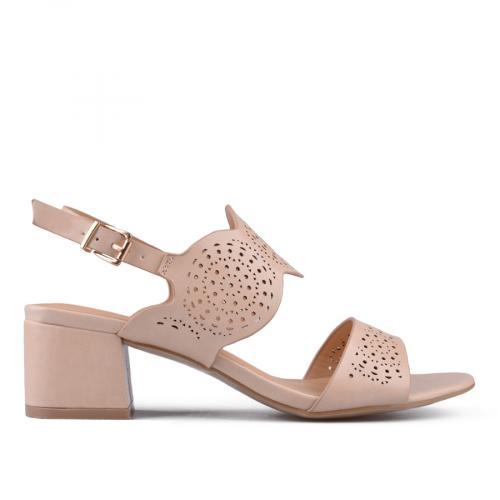 Дамски сандали на среден ток 0133734