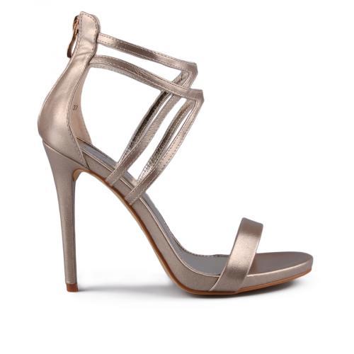 Дамски сандали на висок ток 0129383