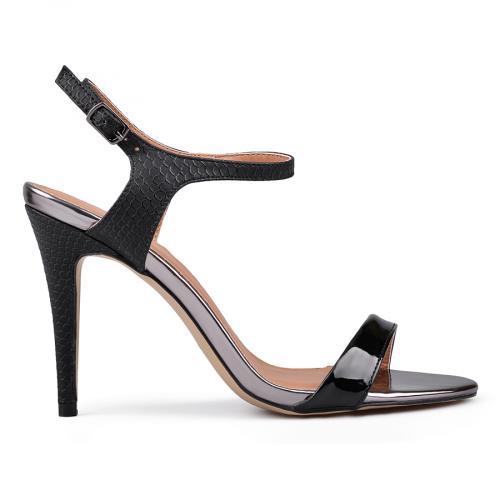 Дамски сандали на висок ток 0130276