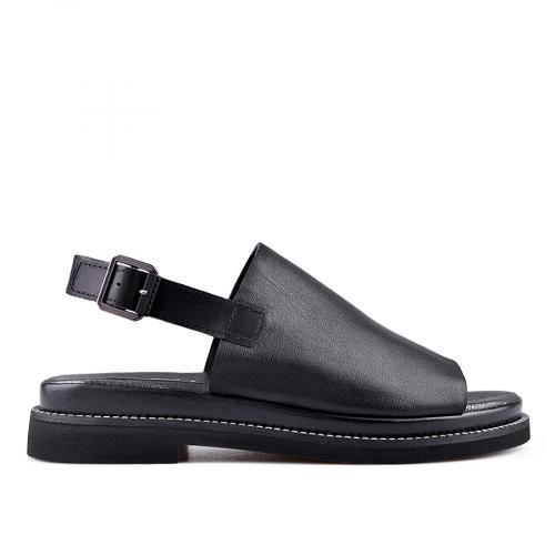 дамски ежедневни сандали черни 0135012