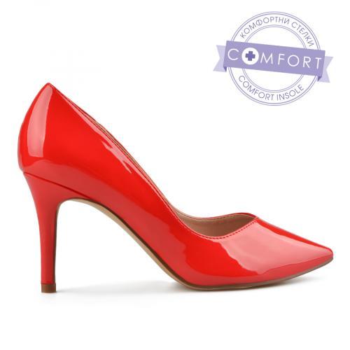 дамски елегантни обувки червени 0138093