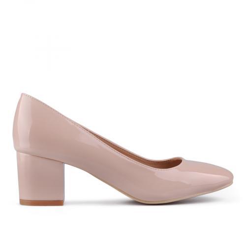 Дамски обувки на среден ток 0129192