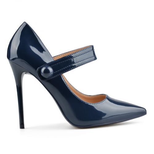 дамски елегантни обувки сини 0137727