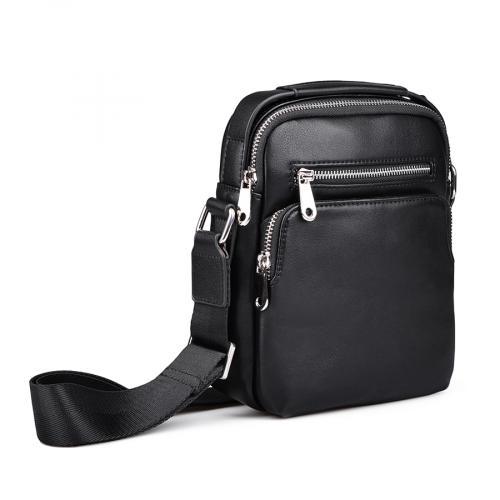 мъжка ежедневна чанта черна 0132449