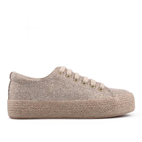 дамски ежедневни обувки бежови 0134507