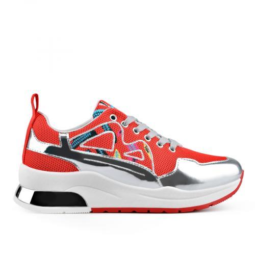 дамски ежедневни обувки червени 0136647