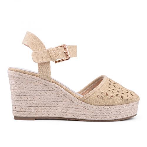 Дамски сандали с платформи 0134086