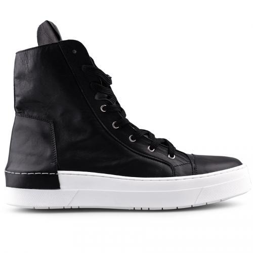 мъжки ежедневни обувки черни 0124862