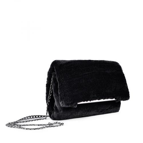 дамска елегантна чанта черна 0134402