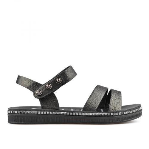 дамски ежедневни сандали черни 0137050